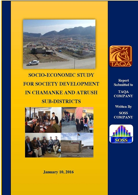 Conducting Socio-economic Study submitted to TAQA Co. for Oil and Gas.