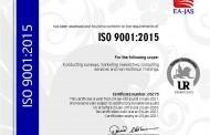 بهدهستهێنانی بڕوانامهی ISO 9001:2015  له لایهن كۆمپانیای SOSS